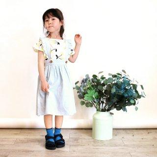 楊柳サロペットスカート / C7430 / 90cm-140cm