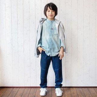 インディゴ裏毛イージーパンツ / D2334 / 140cm-170cm【DEMS】