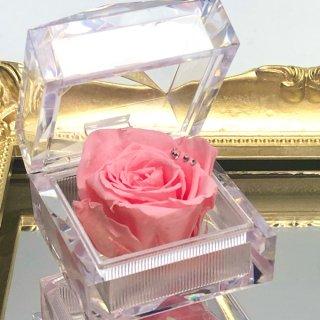 【母の日】女性への贈り物に|ジュエリーローズ ピンク【専用クリアケース付】