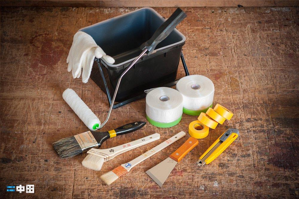 塗装ツール|刷毛・ローラー・養生セット|サンマルシェストア