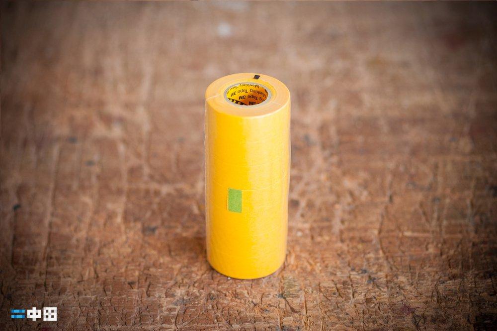 マスキングテープ|黄色|8m×18mm|1本|サンマルシェストア
