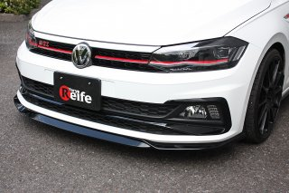 <img class='new_mark_img1' src='https://img.shop-pro.jp/img/new/icons15.gif' style='border:none;display:inline;margin:0px;padding:0px;width:auto;' />Polo GTI  フロントリップスポイラー(ウレタン)