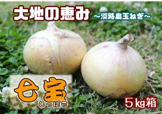淡路玉ねぎ七宝5キロ