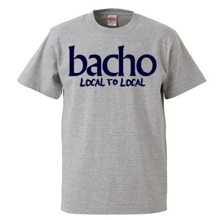 Tシャツ - LOCAL TO LOCAL (グレー)