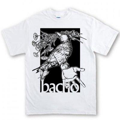 Tシャツ - 海底・カラス (白)