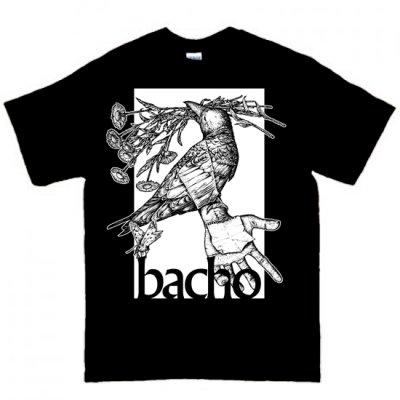 Tシャツ - 海底・カラス (黒)