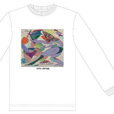 ロングスリーブTシャツ -  HOMETOWN JACKET (白)