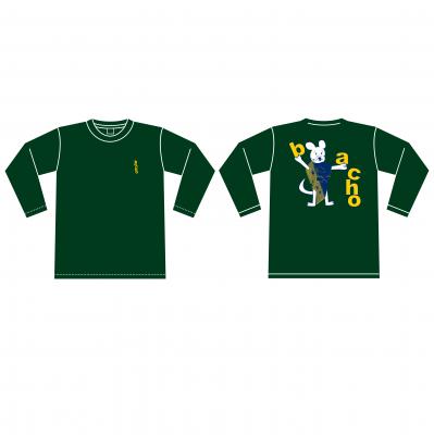 ロングスリーブTシャツ - MOUSE(アイビーグリーン)