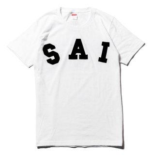 """【受注生産】""""SAI""""ロゴT-Shirts(フロッキー)"""