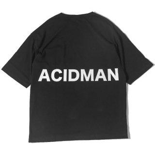 """Around the neck"" BIG T-Shirts [Black]"