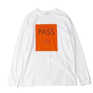 LongSleeve T-Shirts [PASS](白)
