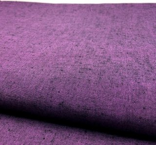 ネップ無地つぶ紫
