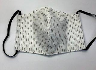夏マスク(からみ織り絣)