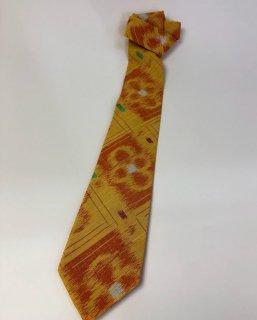 ネクタイ シルケット花柄