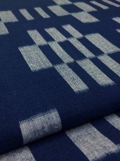 藍染立絣インディアン柄