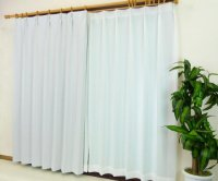 カーテン 通販 遮光カーテン [ピティ] ウィスパーホワイト サイズオーダー