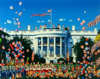 THE WHITE HOUSE DAY    ホワイトハウス設立200周年