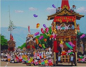 GION FESTIVAL    祇園祭(日本のエッセンス)