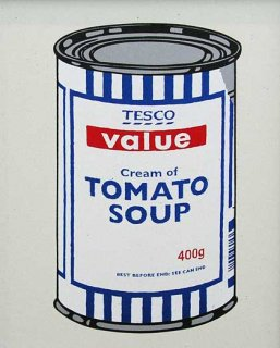 SOUP CAN - ORIGINAL COLOUR
