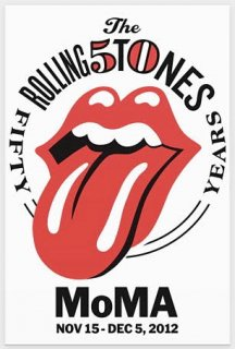 Rolling Stones MoMA Poster