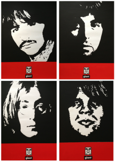 JOHN,PAUL,ANDRE,RINGO (Wall Version)