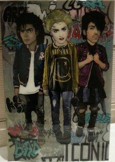 MJ, Madonna , Prince