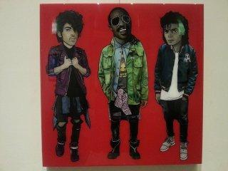 Prince, Stevie Wonder, MJ
