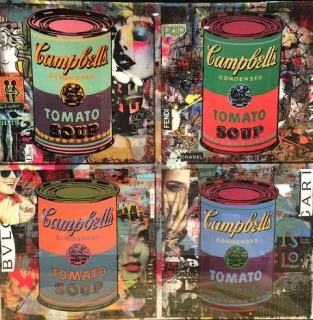Campbell's Soup (Andy Warhol)     ≪Price for Asking   お問い合わせください。≫