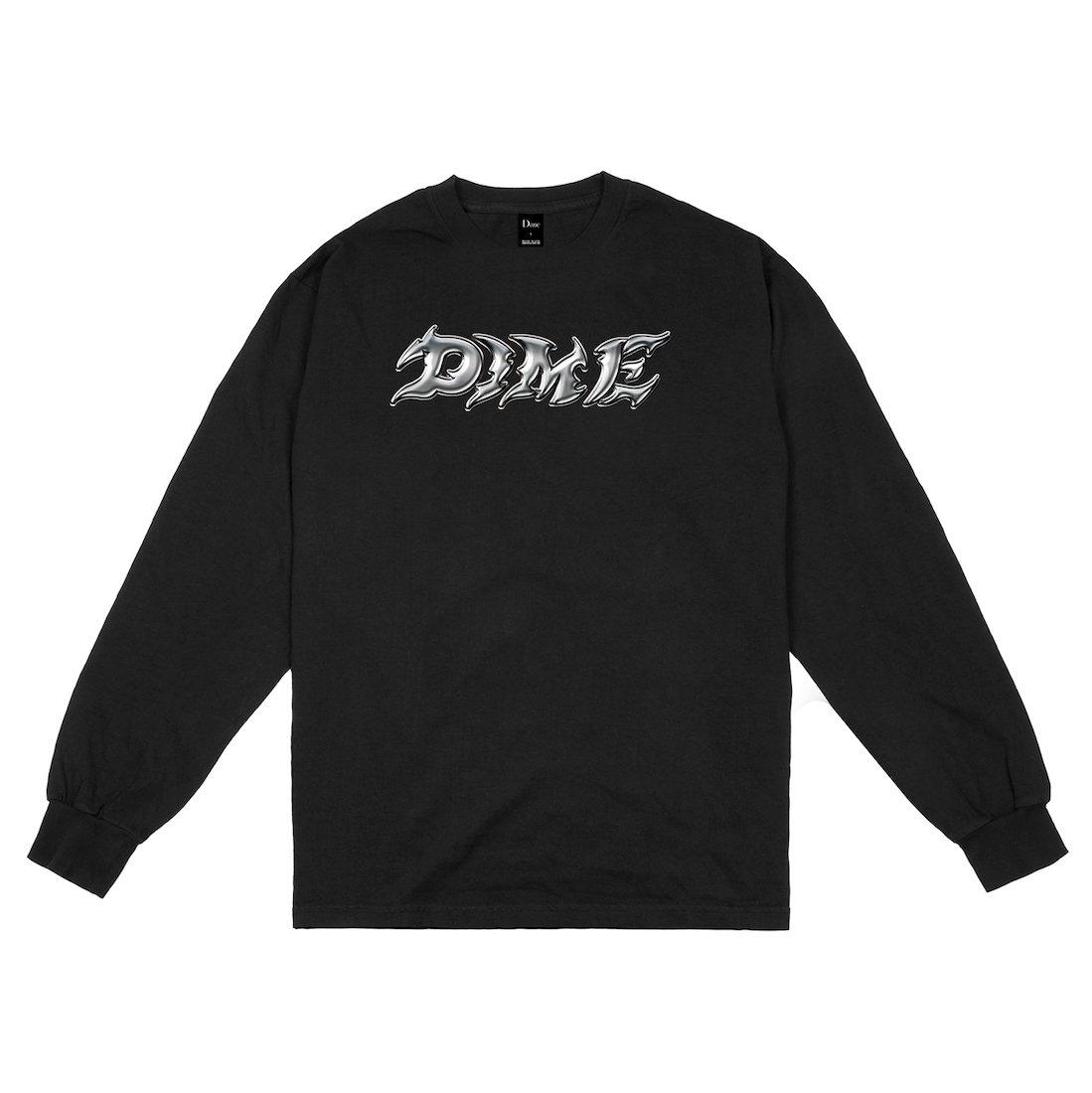 【Dime】Blade L/S Tee - Black