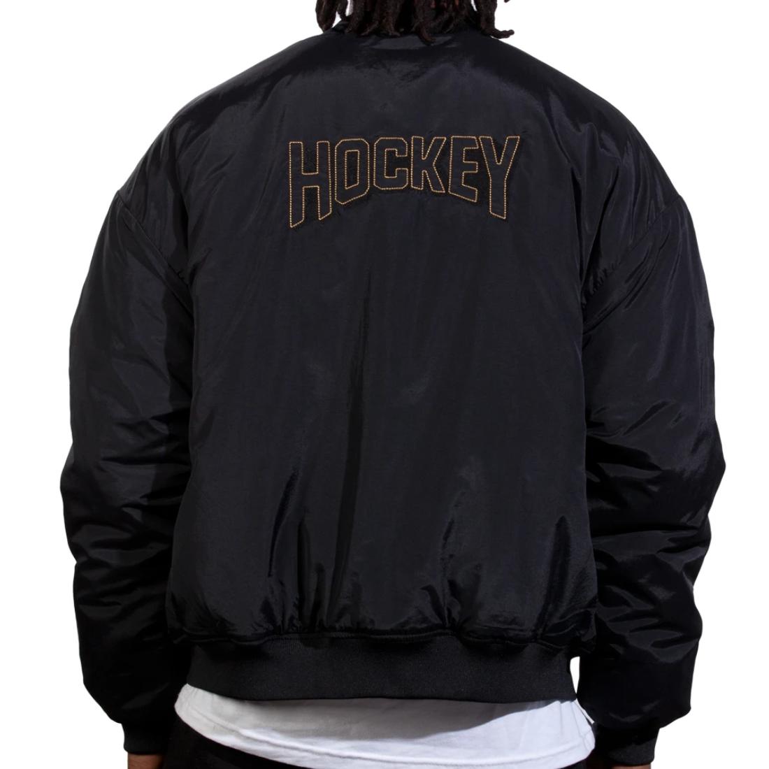 【Hockey】Starter Jacket - Black