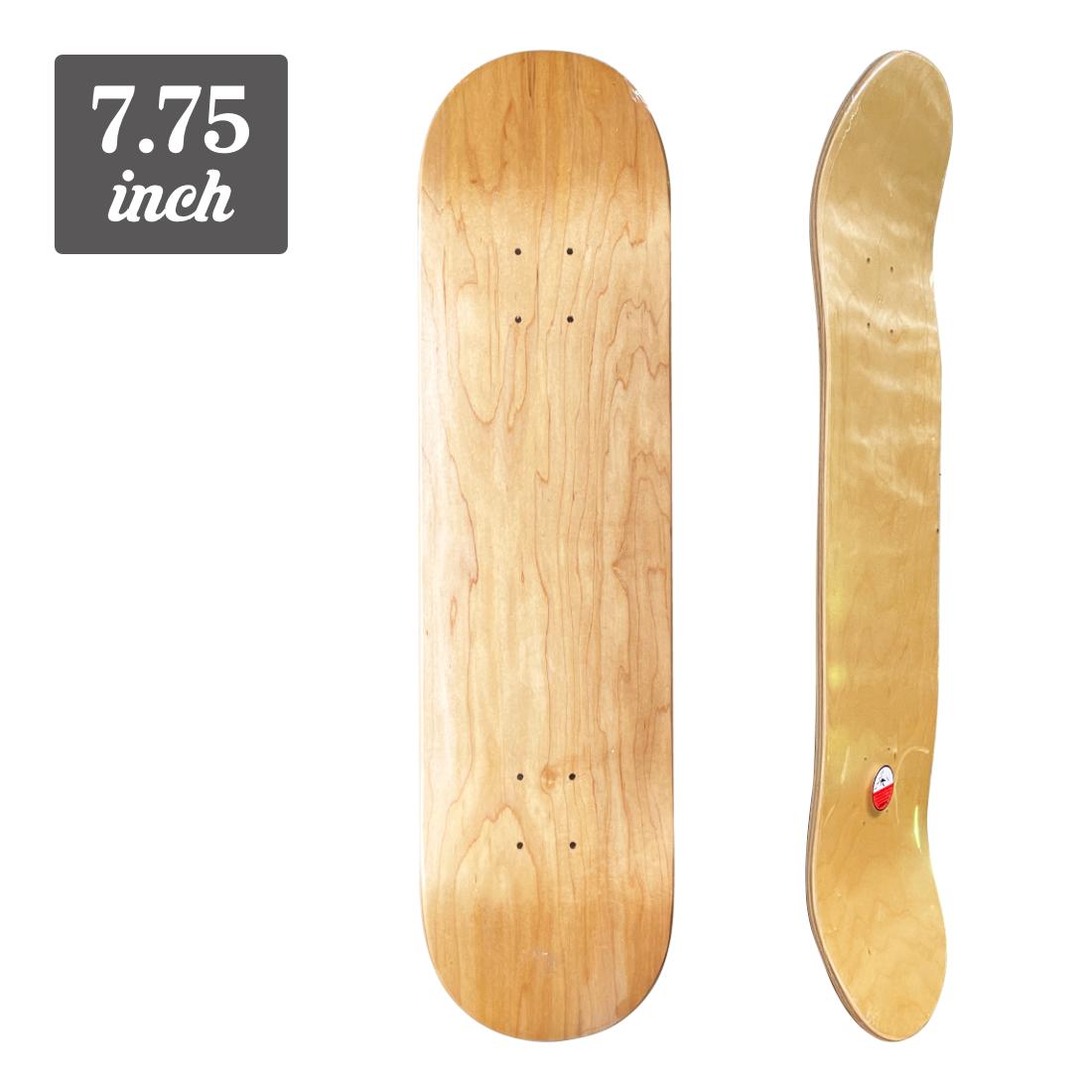 【7.75】Blank Deck - natural/natural