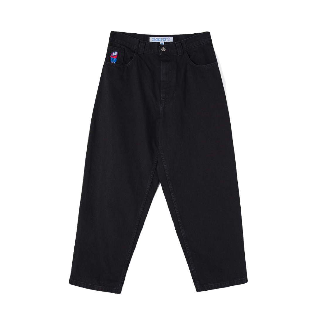 【POLAR SKATE CO.】Big Boy Jeans - Pitch Black