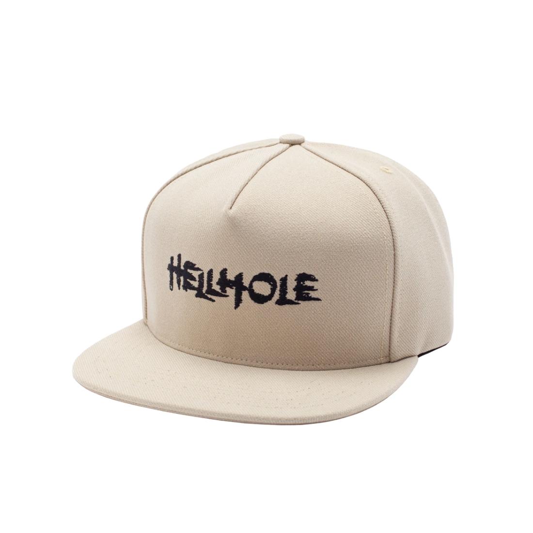 【Hockey】Hellhole 5Panel Cap - Tan