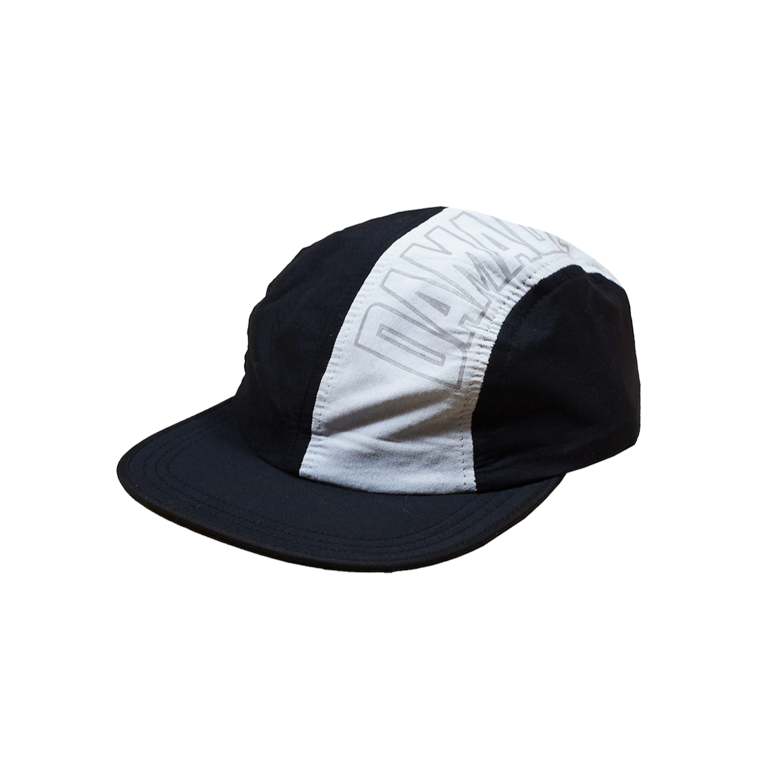 【DAMAGE LTD】4 Panel Tech Cap - Black/Grey