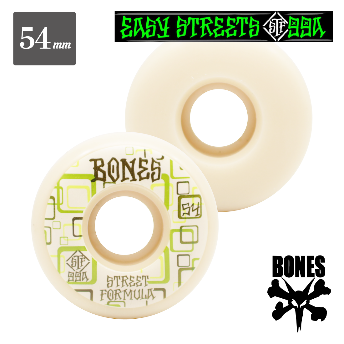 【BONES WHEEL】STF Easy Streets  Retros
