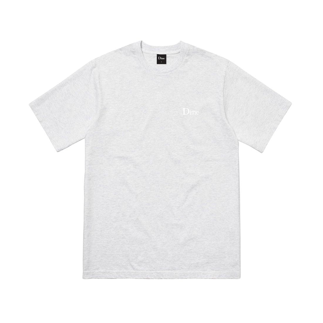 【Dime】Classic Small Logo Tee - Ash