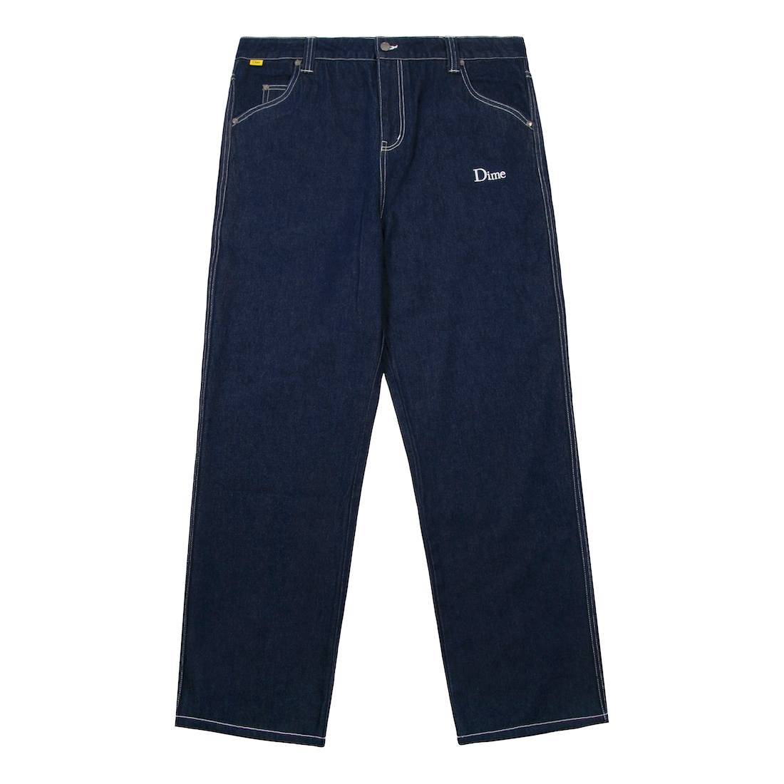 【Dime】Denim Pants - Dark Indigo
