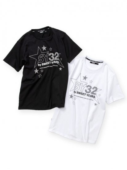 <img class='new_mark_img1' src='https://img.shop-pro.jp/img/new/icons14.gif' style='border:none;display:inline;margin:0px;padding:0px;width:auto;' />【SY32】 STAR LOGO TEE