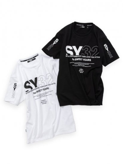 <img class='new_mark_img1' src='https://img.shop-pro.jp/img/new/icons14.gif' style='border:none;display:inline;margin:0px;padding:0px;width:auto;' />【SY32】 MIX LOGO TEE