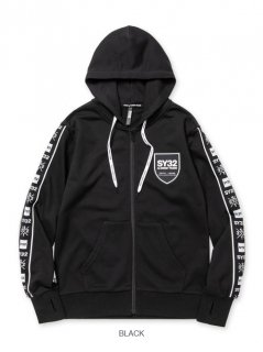 <img class='new_mark_img1' src='https://img.shop-pro.jp/img/new/icons14.gif' style='border:none;display:inline;margin:0px;padding:0px;width:auto;' />【SY32】LINE TAPE ZIP HOODIE