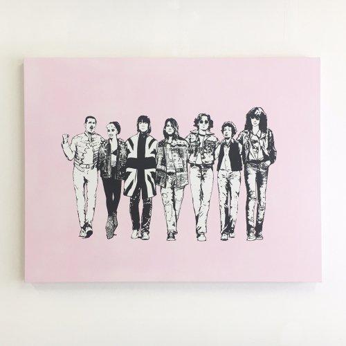 < kurry > No border B(A)NCHI-M Pink ED
