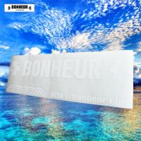 【BONHEUR】 カッティングステッカー600×200mm  ホワイト