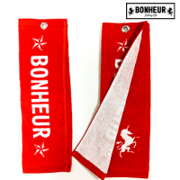 BONHEUR FISHING TOWEL RED