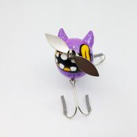 【FXXX】OBAKE/ OBAKE BADSMILE purpleさゆゆパールカラー