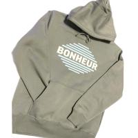 BONHEUR Icon hoodie/ earth gray