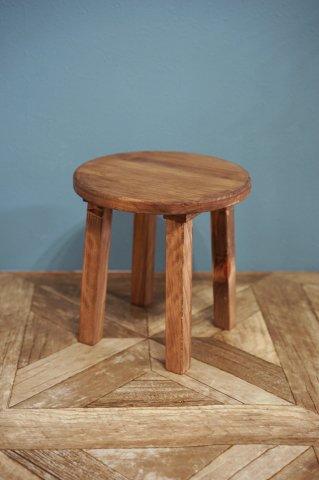 木製の花台 (小)