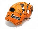 野球 ジームス zeems 軟式グラブ 内野手用小 限定品 SV517SBHN 右投用 日本製 メーカー湯揉み加工済み