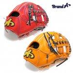 野球 BrandA ブランドA 硬式グラブ 内野手用 907AJ005 ジュテルレザー 日本製 型付け無料 サイズ約28.3cm