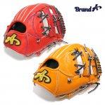 野球 BrandA ブランドA 硬式グラブ 内野手用 907AJ016 ジュテルレザー 日本製 型付け無料 サイズ約27.8cm