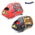 野球 BrandA ブランドA 硬式グラブ 外野手用 907AJ027 ジュテルレザー 日本製 型付け無料 サイズ約31.5cm